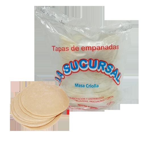 TUBOS DE EMPANADAS (5 DOC)